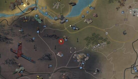 Ресурсы и материалы для крафта в Fallout 76