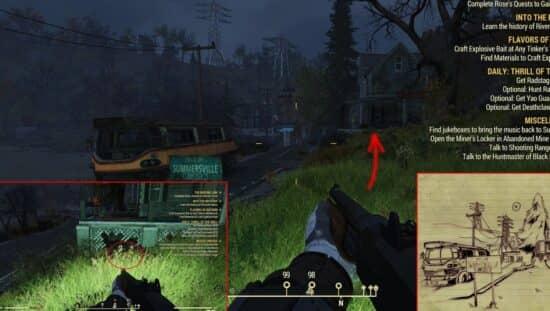 Карты сокровищ в Fallout 76: решение головоломок