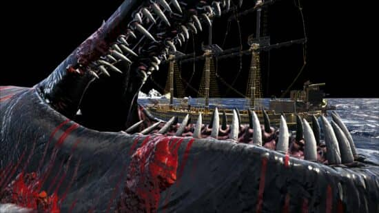 Охота на кита в Atlas: где найти и как убить