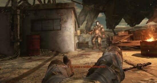 Убить или пощадить Саула в Metro Exodus – бандит на крыше в Каспии