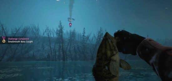 Расположение рыбы в Far Cry New Dawn
